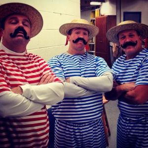 (l-r) Mr. Bezeau, Mr. Welton, Mr. Pratt
