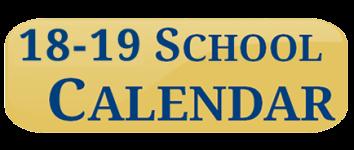 School calendar 18-19-2